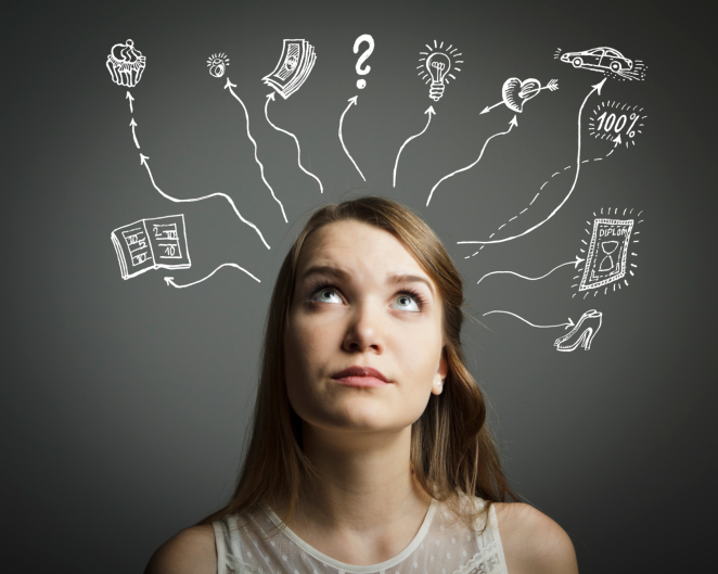 التفكير السلبي، التفكير الإيجابي، اللغة الإيجابية، التأثر في سلوك الآخرين